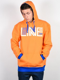 LINE mikina STANCE ORANGE