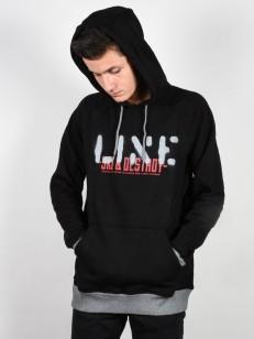 LINE mikina STANCE BLACK