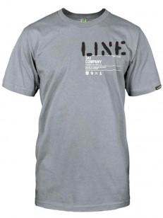 LINE triko STENCIL GRAY