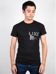 LINE triko STENCIL BLACK