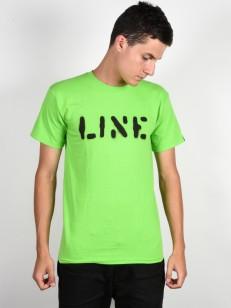 LINE triko STENCIL NEON YELLOW