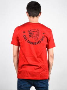 RIDE triko PANTHER RED