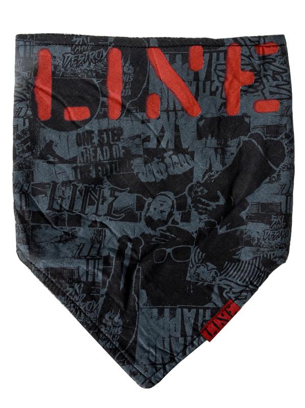 Line Šátek Bandana Black černá