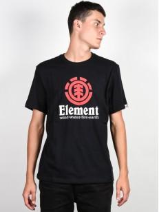 ELEMENT triko VERTICAL FLINT BLACK