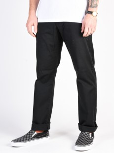 RVCA kalhoty WEEKEND STRETCH BLACK