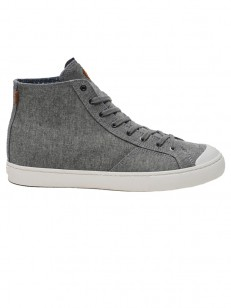 ELEMENT boty SPIKE MID CANVAS STONE CHAMBRAY