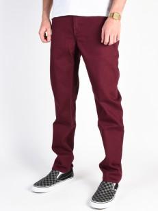 ELEMENT kalhoty E02 COLOR NAPA RED