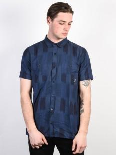 ELEMENT košile MURPHY IKAT BLUE