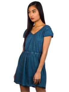 RVCA šaty SHIFTER INDIGO