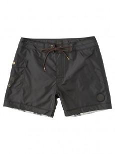 RVCA koupací šortky KNOST RVCA BLACK
