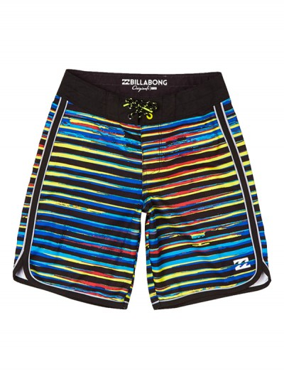 BILLABONG koupací šortky 73 LINE UP OG 17 BLACK