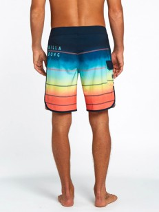 BILLABONG koupací šortky 73 X STRIPE 19 ORANGE