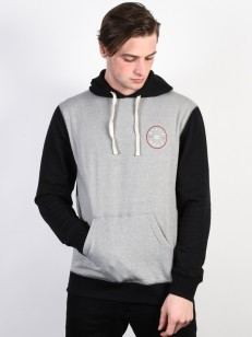BILLABONG mikina PISTON GREY HEATHER