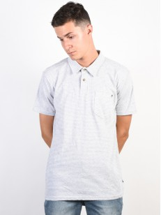 BILLABONG triko STANDARD ISSUE POLO EGGSHELL