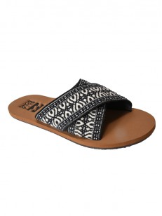 BILLABONG pantofle SURF BANDIT BLACK WHITE