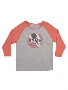 RVCA tílko VOLT RAGLAN ATHLETIC HEATHER