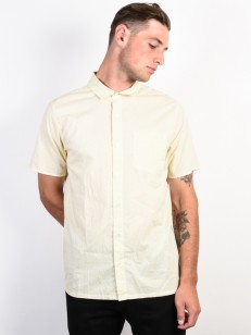 RVCA košile E DOT ANTIQUE WHITE