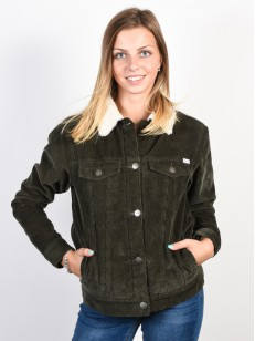 RVCA bunda MERC CORD MILITARY GREEN