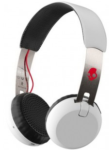 SKULLCANDY sluchátka GRIND WIRELESS ON-EAR white/b