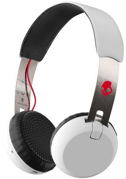 Skullcandy Sluchátka Grind Wireless On-ear White/b