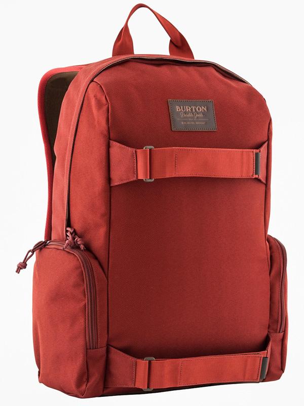 Burton Batoh Emphasis Fired Brick Twill červená