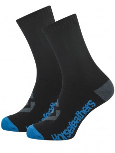 HORSEFEATHERS ponožky LOBY CREW blue