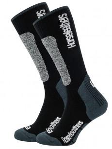HORSEFEATHERS ponožky CALEB black