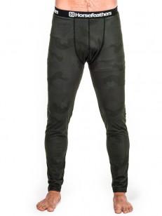 HORSEFEATHERS termo kalhoty RILEY black camo