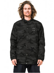 HORSEFEATHERS bunda RUGGED black camo