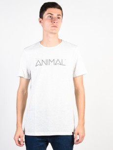 ANIMAL triko LATIDE LIGHT GREY MARL