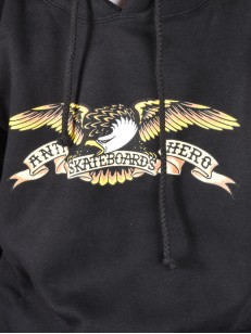 ANTIHERO mikina EAGLE BLACK