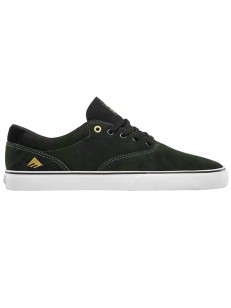 EMERICA boty PROVOST SLIM VULC GREEN/BLACK/WHITE