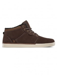 ETNIES boty JEFFERSON MID BROWN/BROWN