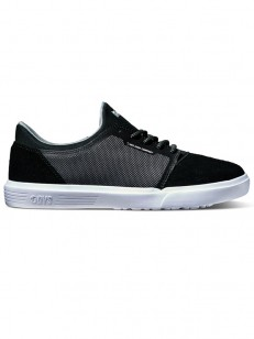 DVS boty STRATOS LT+ KIDS CHARCOAL BLACK MESH