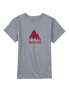 BURTON triko CLSSMTNHGH GRAY HEATHER