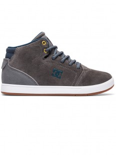 DC boty CRISIS HIGH GREY