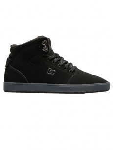 DC boty CRISIS HIGH BLACK/GREY