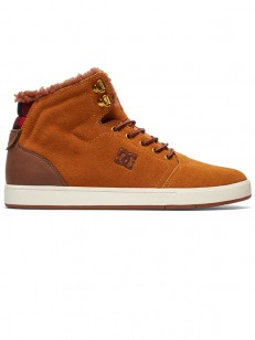 DC boty CRISIS HIGH WHEAT/DK CHOCOLATE