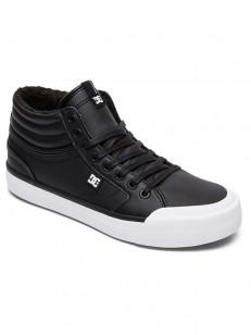DC boty EVAN HI BLACK/WHITE/BLACK