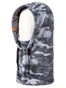 QUIKSILVER kukla PRESTON BLACK GREY CAMOKAZI