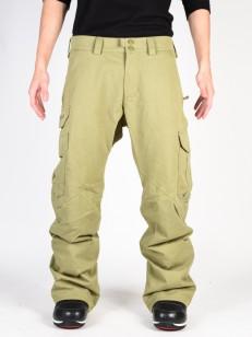 BURTON kalhoty CARGO OLIVE BRNCH DISTRESS