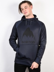 BURTON mikina CROWN MOOD INDIGO HEATHER