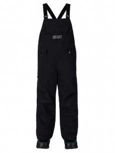 BURTON kalhoty SKYLAR BIB TRUE BLACK