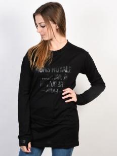 MONS ROYALE triko BOYFRIEND black
