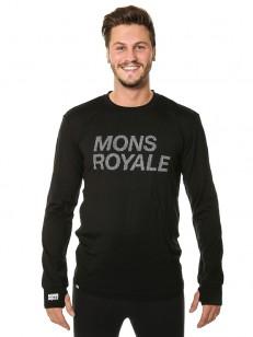 MONS ROYALE triko ORIGINAL ITALLICA black