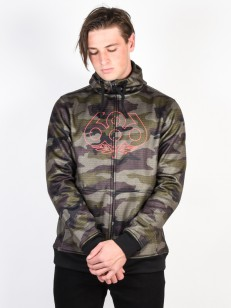686 mikina ICON BONDED fatigue camo print