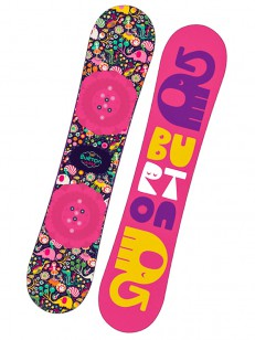 BURTON snowboard CHICKLET PIN