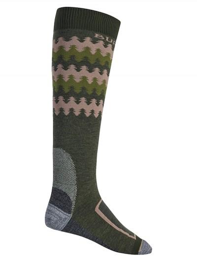 BURTON ponožky BUFFER II FOREST NIGHT