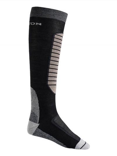 BURTON ponožky MERINO PHASE TRUE BLACK