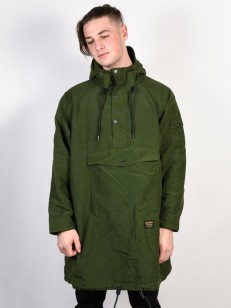 BURTON bunda MB WARREN ANORAK RIFLE GREEN